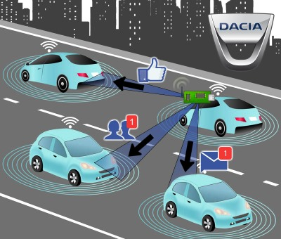 dacia traffic sensors