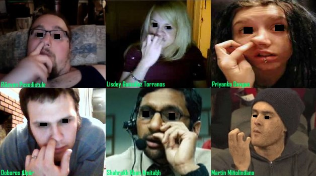 nose picking study fbi