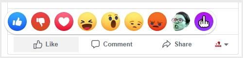 offended dislike facebook like emojis