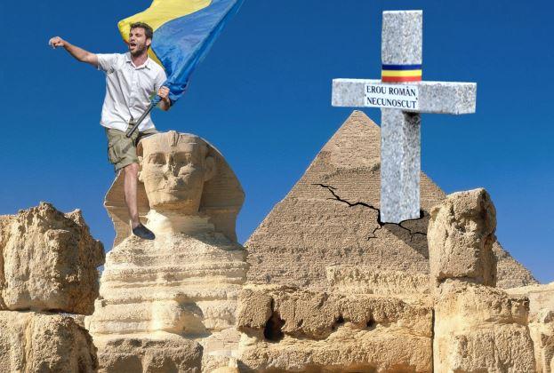 tainele piramidelor eroul roman necunoscut