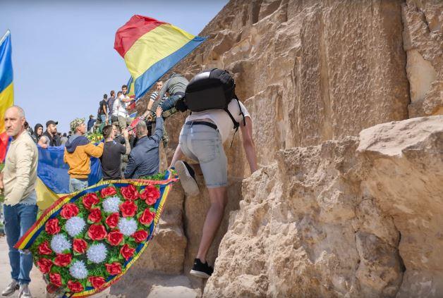 eroul roman necunoscut piramide egipt